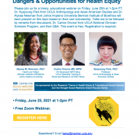 Black & Asian Relations in America: Dangers & Opportunities for Health Equity