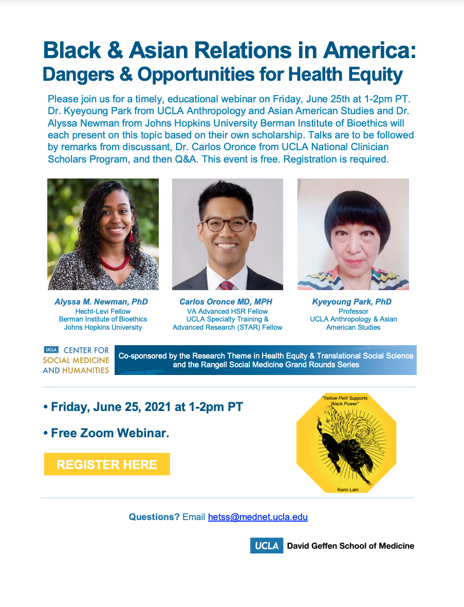 You are currently viewing Black & Asian Relations in America: Dangers & Opportunities for Health Equity