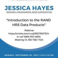 September Methods Seminar