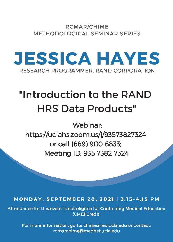 September Methods Seminar UPDATED