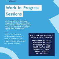 Works in Progress Seminars