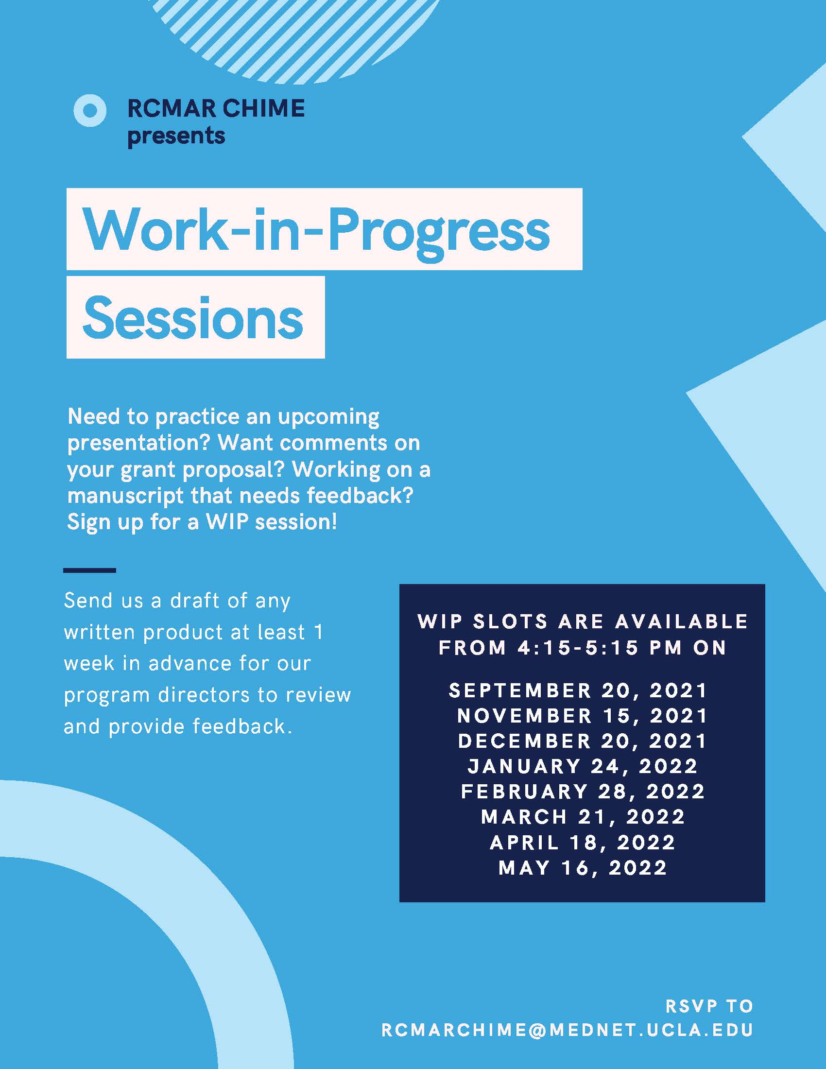 You are currently viewing Works in Progress Seminars