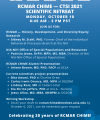 Register for the RCMAR CHIME and CTSI 2021 Fall Scientific Retreat